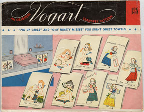 Vogart envelope #138 Pin Up Girls